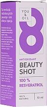 Парфюмерия и Козметика Серум за лице - You & Oil Serum Facial N8 Antioxidante Natural Vegano Resveratrol Beauty Shot