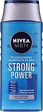 """Парфюмерия и Козметика Шампоан за мъже """"Енергия и сила"""" - Nivea For Men Shampoo"""