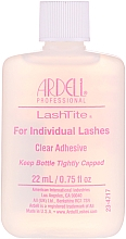 Парфюмерия и Козметика Прозрачно лепило за мигли на снопчета - Ardell LashTite Adhesive Clear