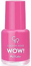 Парфюмерия и Козметика Лак за нокти - Golden Rose Wow Nail Color