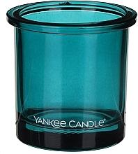 Парфюмерия и Козметика Чаша за свещ - Yankee Candle POP Teal Tealight Votive Holder
