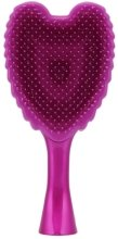 Четка за коса - Tangle Angel Cherub FAB! Fuchsia Professional Detangling Brush (15см) — снимка N3