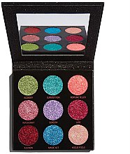 Парфюмерия и Козметика Палитра с блясък - Makeup Revolution Pressed Glitter Palette Abracadabra
