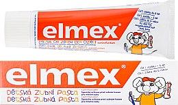 Парфюмерия и Козметика Детска паста за зъби - Elmex Childrens Toothpaste