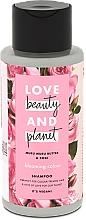 Парфюмерия и Козметика Шампоан за боядисана коса с масло от мурумуру и роза - Love Beauty&Planet Muru Muru Butter & Rose
