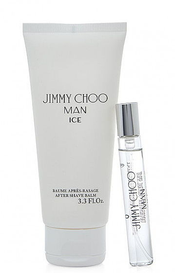 Jimmy Choo Man Ice - Комплект (тоал. вода/мини/7.5ml + афтър. балсам/50ml) — снимка N1