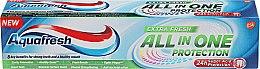Парфюмерия и Козметика Паста за зъби - Aquafresh All In One Protection Extra Fresh