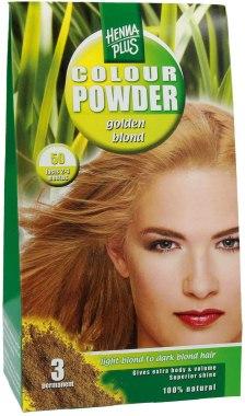 Боя за коса на основата на къна - Hennaplus Colour Powder — снимка N1