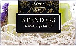 Парфюмерия и Козметика Омекотяващ липов сапун - Stenders Melon Soap