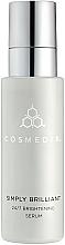 Парфюмерия и Козметика Изсветляващ серум за лице - Cosmedix Simply Brilliant 24/7 Brightening Serum