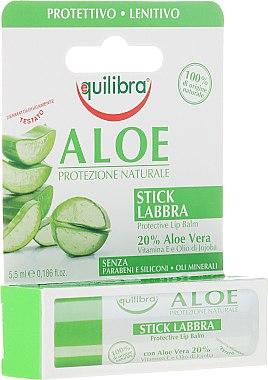 Балсам за устни - Equilibra Aloe Line Lip Balm