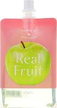 Парфюми, Парфюмерия, козметика Подхранващ и омекотяващ гел за лице с ябълка - Skin79 Real Fruit Soothing Gel Green Apple