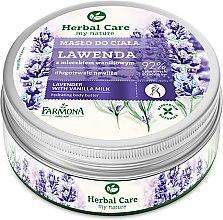 Парфюми, Парфюмерия, козметика Масло за тяло с лавандула - Farmona Herbal Care