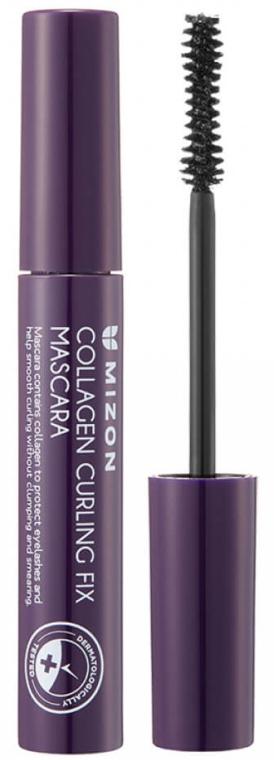 Колагенова спирала за мигли - Mizon Collagen Curling Fix Mascara — снимка N1