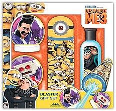 Парфюмерия и Козметика Комплект - EP Line Minions Blaster Gift Set (sh/gel 100ml + water gun + targets)