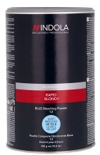 Парфюмерия и Козметика Изсветляващ прах, син - Indola Profession Rapid Blond+ Blue Dust-Free Powder