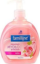 Парфюми, Парфюмерия, козметика Течен сапун - Pollena Savona Familijny Rose Creamy Liquid Soap