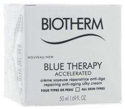 """Парфюми, Парфюмерия, козметика Крем за лице """"Ускорено възстановяване - Biotherm Blue Therapy Accelerated Cream (тестер)"""