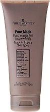 Парфюми, Парфюмерия, козметика Успокояваща и почистваща маска за проблемна кожа - Philip Martin's Pure Mask