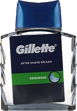 "Афтършейв ""Фреш"" - Gillette Series Cool Wave After Shave Splash for Men — снимка N2"