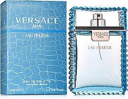 Парфюми, Парфюмерия, козметика Versace Man Eau Fraiche - Тоалетна вода
