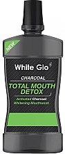 Парфюмерия и Козметика Антибактериална вода за уста - White Glo Charcoal Total Mouth Detox Mouthwash
