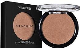 Парфюми, Парфюмерия, козметика Бронзираща пудра за лице - Mesauda Milano Viva Bronze Compact Bronzing Powder