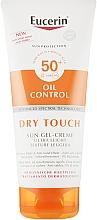 Парфюмерия и Козметика Слънцезащитен ултралек гел-крем с матиращ ефект - Eucerin Oil Control Dry Touch Sun Gel-Cream SPF50+