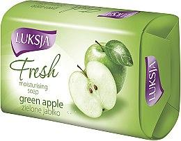 """Парфюмерия и Козметика Сапун """"Зелена ябълка"""" - Luksja Fresh Green Apple Moisturizing Soap"""