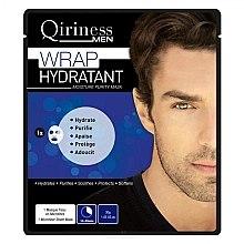 Парфюмерия и Козметика Хидратираща и почистваща маска за мъже - Qiriness Wrap Hydratant Moisture Purity Mask