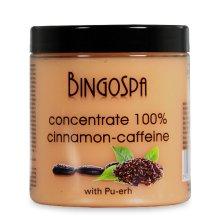 Парфюми, Парфюмерия, козметика Концентрат с канела, кофеин и екстракт от чай Пу-Ер - BingoSpa Concentrate 100% Cinnamon-Extract Caffeine