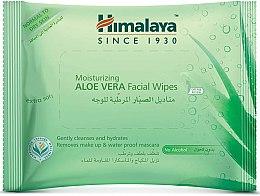 Парфюмерия и Козметика Хидратиращи почистващи кърпички за лице с алое вера - Himalaya Moisturizing Aloe Vera Facial Wipes