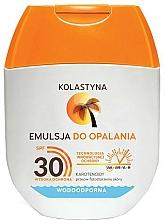 Парфюмерия и Козметика Водоустойчива слънцезащитна емулсия - Kolastyna Emulsion Waterproof SPF 30 (mini)