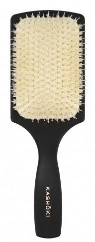 Четка за коса с естествен косъм, правоъгълна - Kashoki