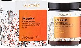Парфюмерия и Козметика Подхранващ скраб за тяло - Alkemie My Precious Nourishing Sugar Body Scrub