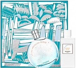 Парфюми, Парфюмерия, козметика Hermes Eau des Merveilles Bleue - Комплект (тоал. вода/100ml + лосион за тяло/80ml)
