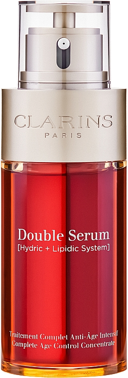 Двоен серум за лице - Clarins Double Serum Complete Age Control Concentrate