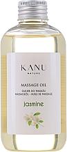 """Парфюмерия и Козметика Масажно масло """"Жасмин"""" - Kanu Nature Jasmine Massage Oil"""