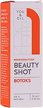 Парфюмерия и Козметика Регенериращ серум за лице с ботокс ефект - You & Oil Beauty Shot Botoks Oil / Regeneration Face Serum