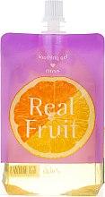 Парфюмерия и Козметика Възстановяващ и успокояващ гел за лице с портокал и лимон - Skin79 Real Fruit Citrus