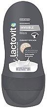 Парфюмерия и Козметика Рол-он дезодорант - Lactovit Men Invisible Deodorant Roll-On