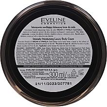 Интензивно хидратиращ крем за тяло - Eveline Cosmetics Argan & Vanilla Gold Edition Intetsive Moisturising Body Cream — снимка N2