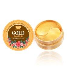 Парфюмерия и Козметика Хидрогел пачове за очи със злато и пчелно млечице - Petitfee & Koelf Gold & Royal Jelly Eye Patch