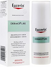 Парфюмерия и Козметика Успокояващ крем за проблемна кожа - Eucerin Dermo Pure Skin Adjunctive Soothing Cream