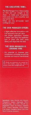 Тоник за лице с плодова киселина - Alcina Skin Manager Tonic — снимка N3