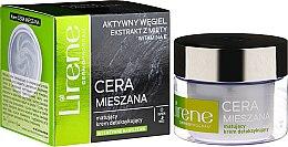 Парфюмерия и Козметика Матиращ детоксикиращ крем за комбинирана кожа - Lirene Dermo Program