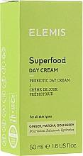 Парфюмерия и Козметика Хидратиращ дневен крем за лице - Elemis Superfood Day Cream