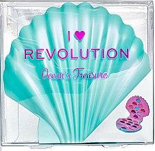 Палитра сенки за очи, 21 цвята - I Heart Revolution Ocean's Treasure Palette — снимка N1