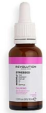 Парфюмерия и Козметика Серум за лице - Revolution Skincare Stressed Mood Soothing Serum