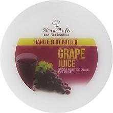 """Парфюмерия и Козметика Масло за ръце и крака """"Гроздов сок"""" - Stani Chef's Grape Juice Hand & Foot Butter"""